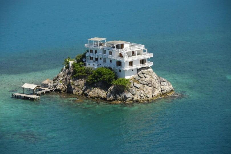 Фото домик на острове   подборка 026