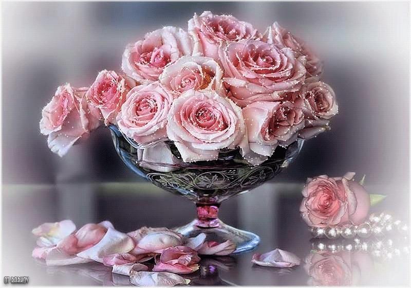 Годовщиной свадьбы, фото картинки анимация букеты цветов