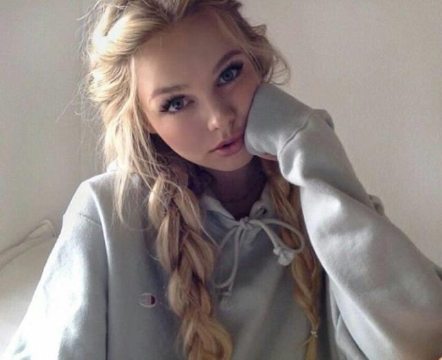 Фото красивых девушек из интернета   подборка 014