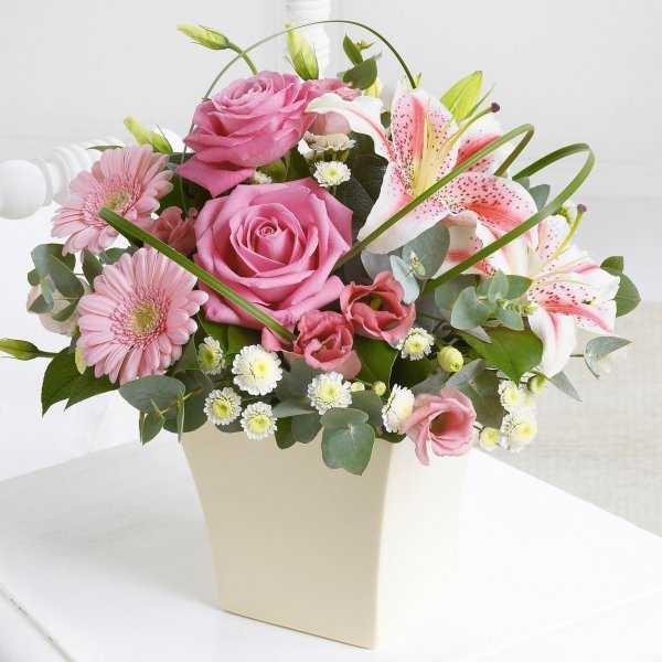 Фото лилии цветы букет   подборка картинок 025