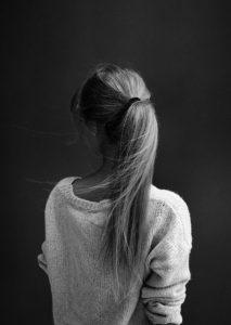 Фото мелированная девушка со спины 021