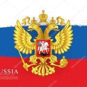 Фото на фоне флага России023