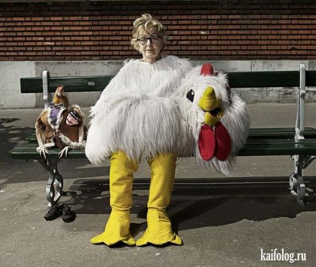 Фото пожилых людей смешные и веселые 023