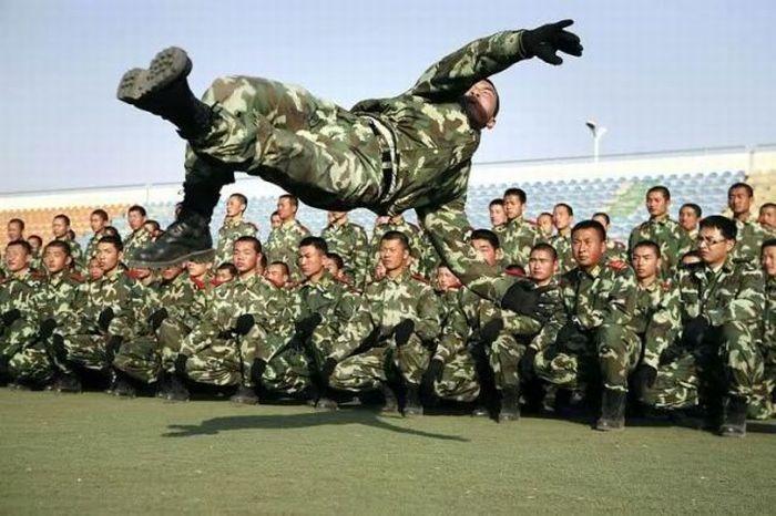 Фото приколы военные   смешные картинки 002