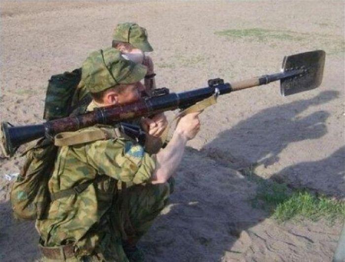 Фото приколы военные   смешные картинки 019