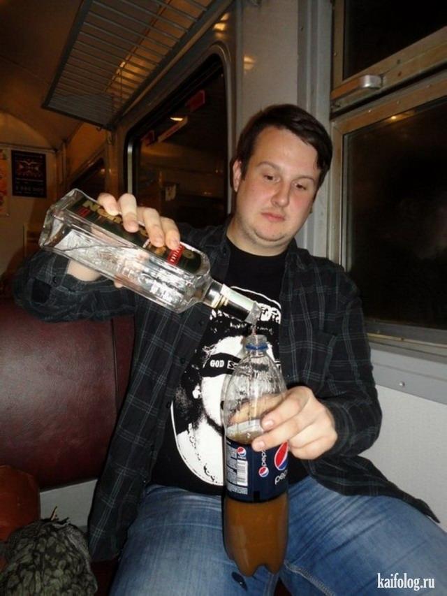 Фото приколы пьяных мужиков   подборка 018