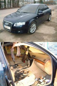 Фото разбитых машин ВАЗ   подборка 023