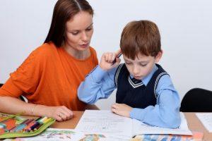 Фото ребенок делает уроки   картинки 027
