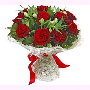 Фото розы красивый букет цветов 024