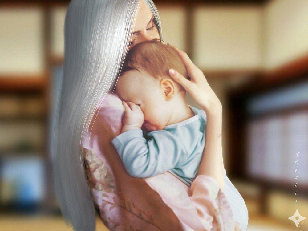 Фото руки мамы и ребенка   подборка 006