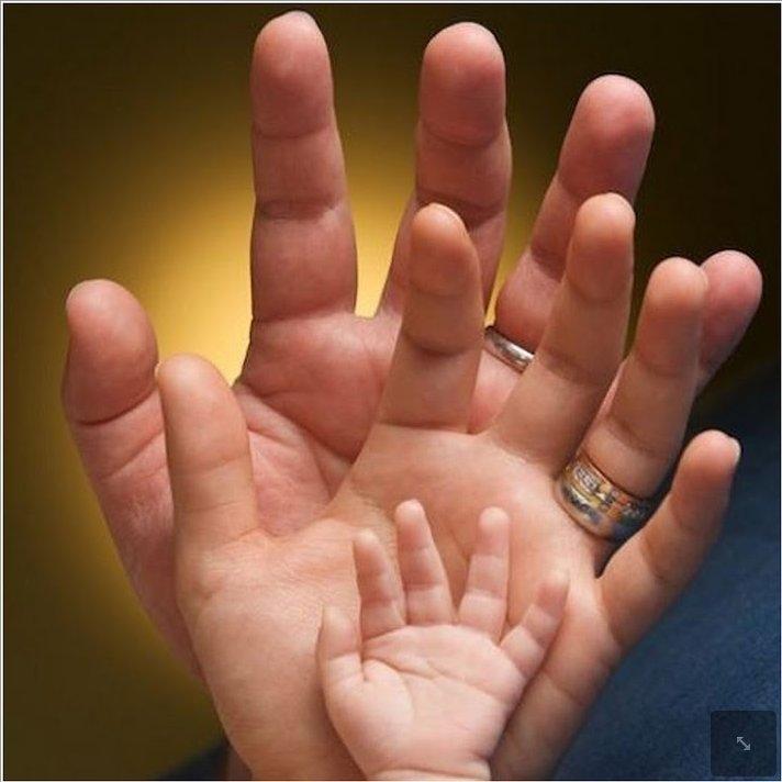 Фото руки мамы и ребенка   подборка 020