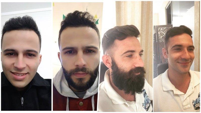 Фото с бородой и без бороды   приколы, картинки (14)