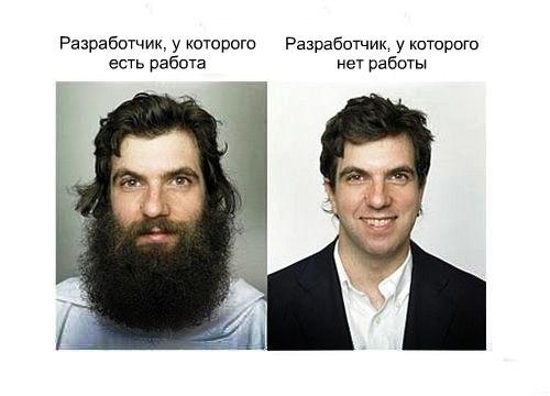 Фото с бородой и без бороды   приколы, картинки (15)