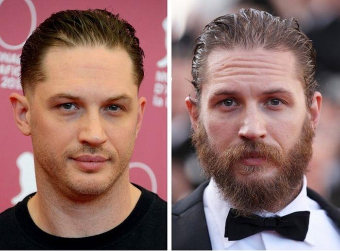 Фото с бородой и без бороды   приколы, картинки (17)