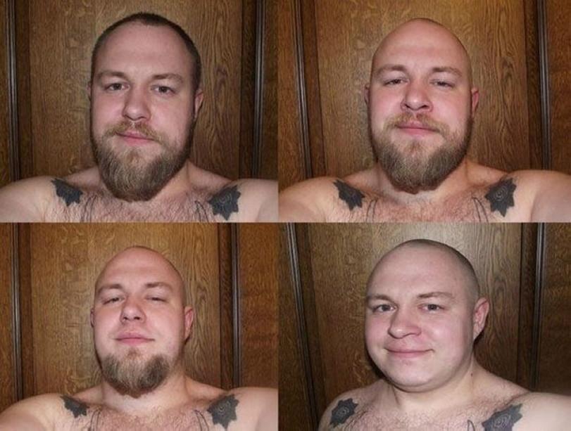 Фото с бородой и без бороды   приколы, картинки (18)