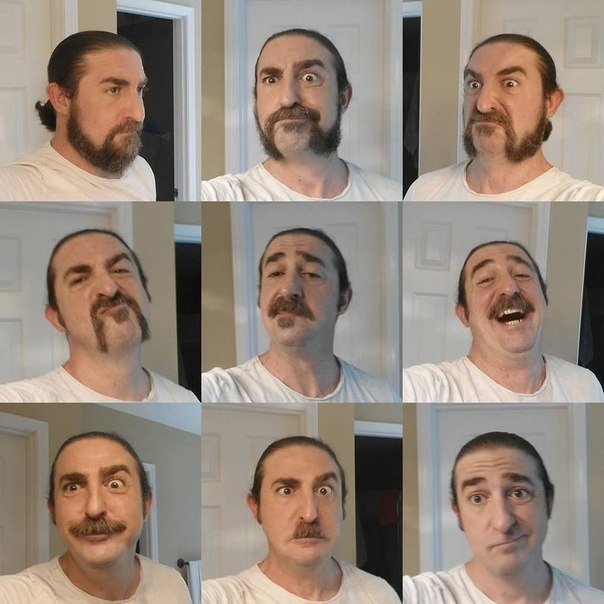 Фото с бородой и без бороды   приколы, картинки (21)