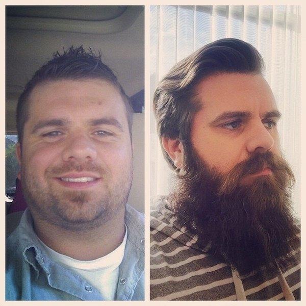 Фото с бородой и без бороды   приколы, картинки (4)