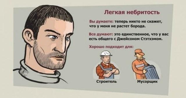 Фото с бородой и без бороды   приколы, картинки (9)