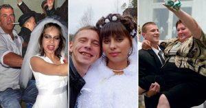 Фото с деревенских свадеб смешные и веселые 029