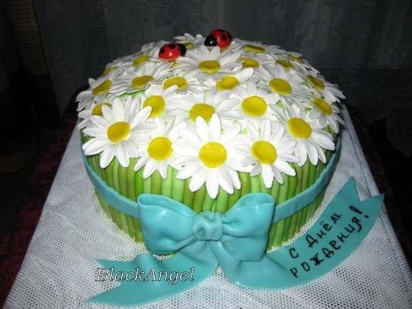 Фото торт для мамы на 55 лет   подборка 022