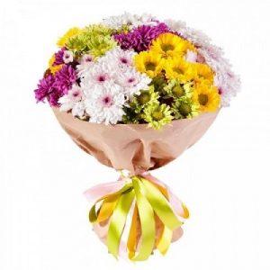 Хризантемы кустовые букет фото и картинки 025