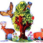 Цветные картинки для детей дерево   подборка 029