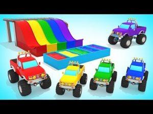 Цветные картинки для мальчиков машинки   подборка 018