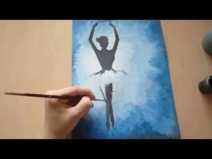 Цветные картинки для срисовки красками для начинающих (26)