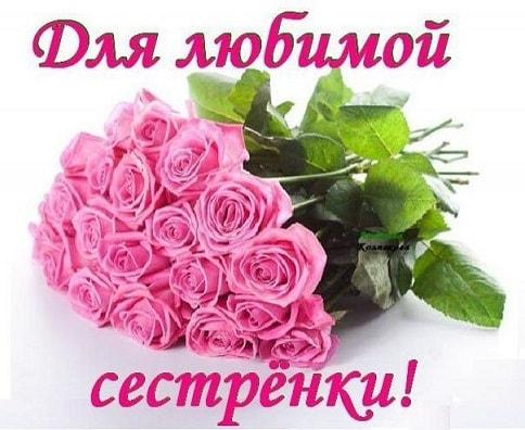 Цветы фото для сестры   красивые027