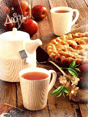Чашка чая с добрым утром   картинки 003