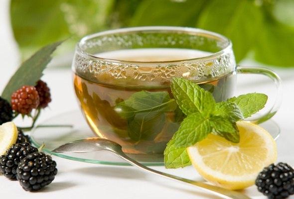 Чашка чая с добрым утром   картинки 015