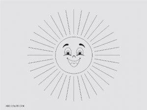 Черно белая картинка солнышко   подборка 024