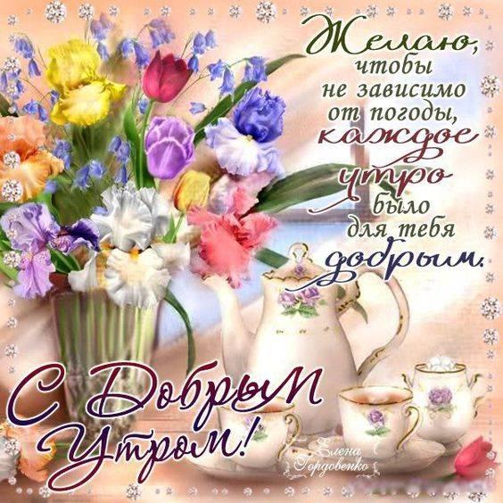 Чудесного доброго утра картинки и открытки011