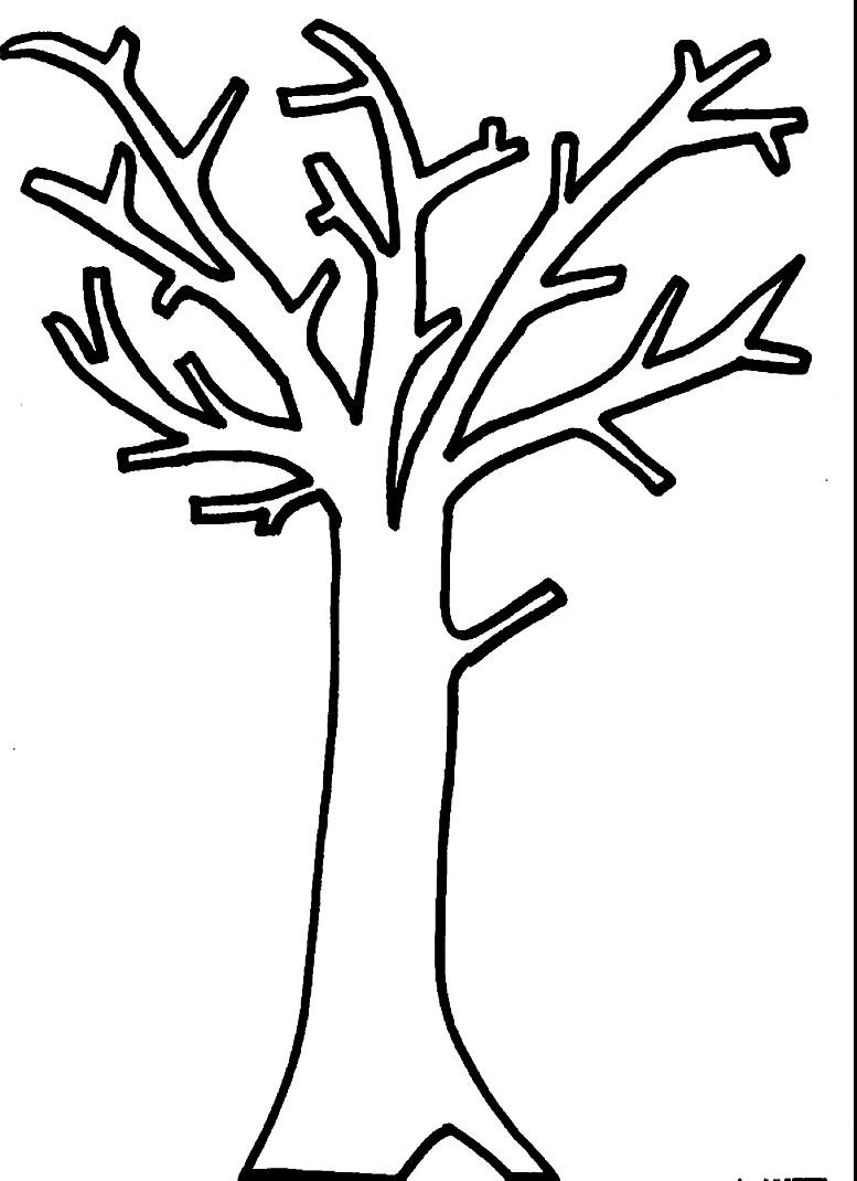 картинки осенних деревьев шаблоны день