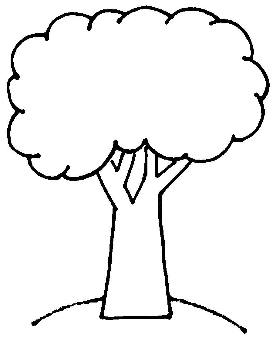 картинка дерева для распечатывания предназначений одежды