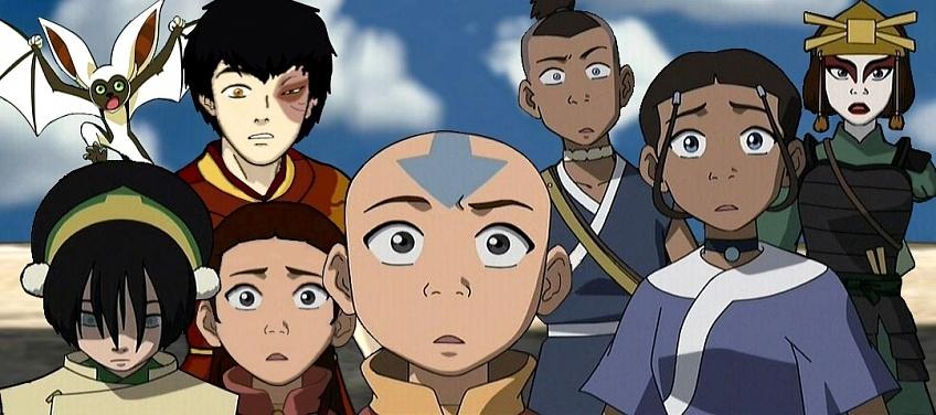 персонажи из Аватара легенда об Аанге (1)