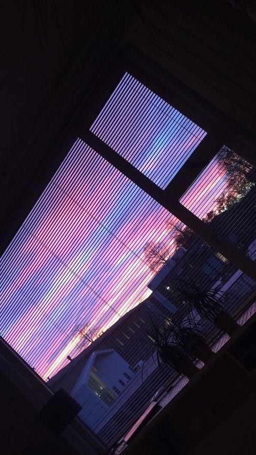 Purple aesthetic   красивые картинки004