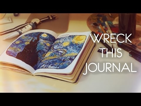 Wreck this journal идеи на русском   картинки012