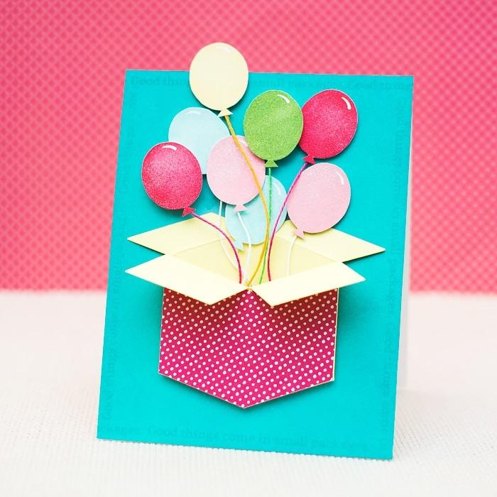 Для детей, как сделать открытку из цветной бумаги