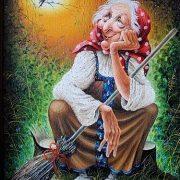 Баба яга смешная картинка   красивая подборка018