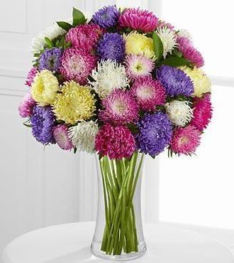 Букеты из садовых цветов фото   красивые005