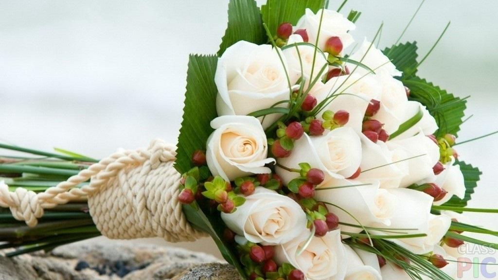 Букеты из садовых цветов фото   красивые011