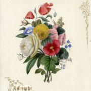 Винтажные цветы картинки для декупажа   фото015