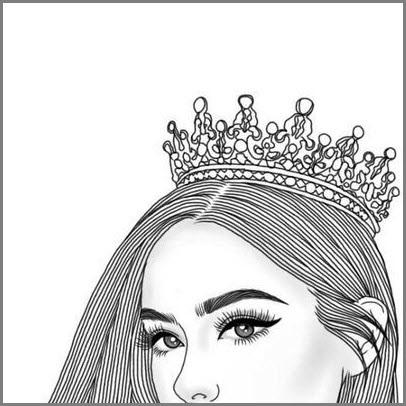 Девушка в короне на аву   красивая001