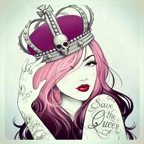 Девушка в короне на аву   красивая007