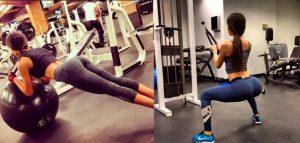 Девушка в спортзале со спины – красивые картинки020