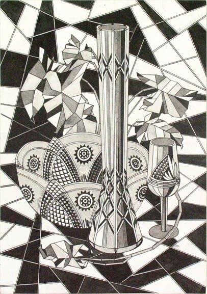 Декоративная графика картинки    рисунки004