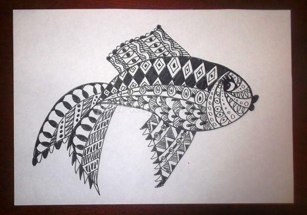 Декоративная графика картинки    рисунки008