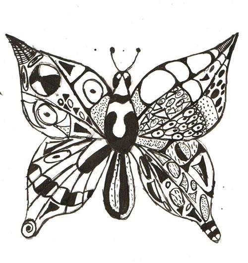 Декоративная графика картинки    рисунки013