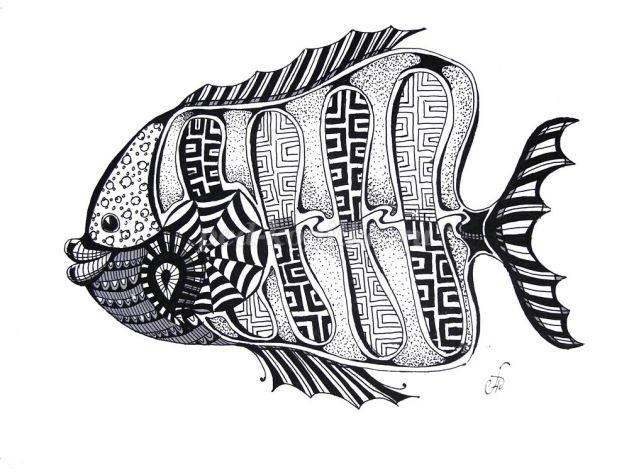 Декоративная графика картинки    рисунки014